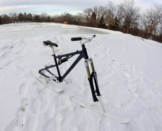 How to Create a Downhill Ski-Bike 2.0