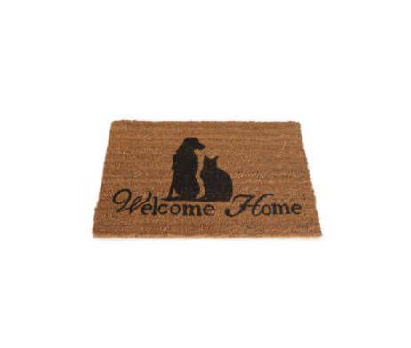 Kokosmat-Welcome-Hond