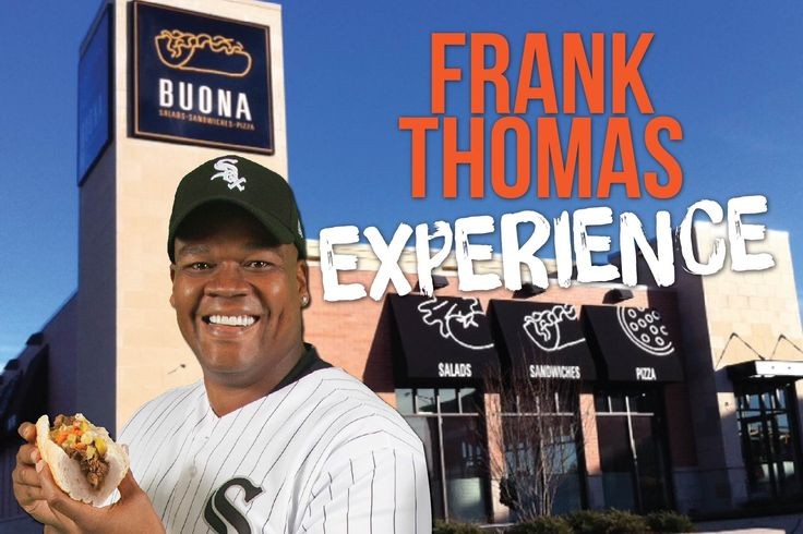 We're officially kicking off our own Summer of Baseball! All season long, just post a picture on social media of your Buona Beef sandwich, tag us in the caption, and be entered to win awesome prizes. And, to start the hype, we are giving away 5 VIP passes to get autographed memorabilia from #FrankThomas and be the first in line to meet The Big Hurt himself on June 25th from 11-12 Noon at our store in Orland Park. Winners will be contacted by public comment on the picture they've posted…