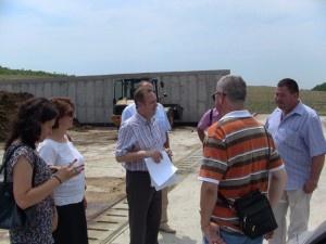 Receptie finală a platformei pentru depozitarea gunoiului de grajd si a deșeurilor menajere – Schela judetul Galați