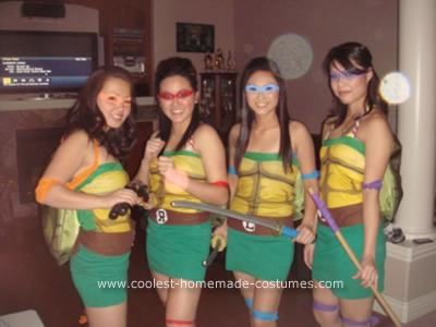 62 best ninja turtle costume ideas images on pinterest halloween coolest homemade girl ninja turtles costume solutioingenieria Choice Image