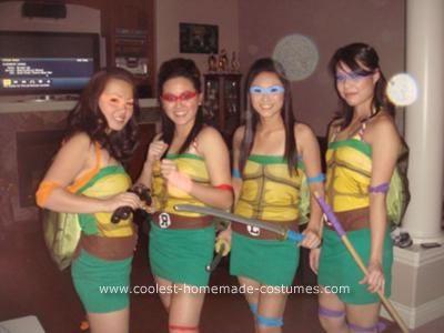 62 best ninja turtle costume ideas images on pinterest halloween coolest homemade girl ninja turtles costume solutioingenieria Gallery