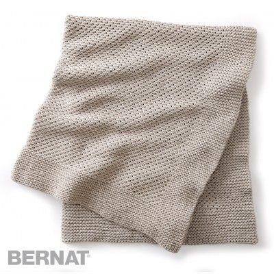 Free Beginner Afghan Knit Pattern Bernat