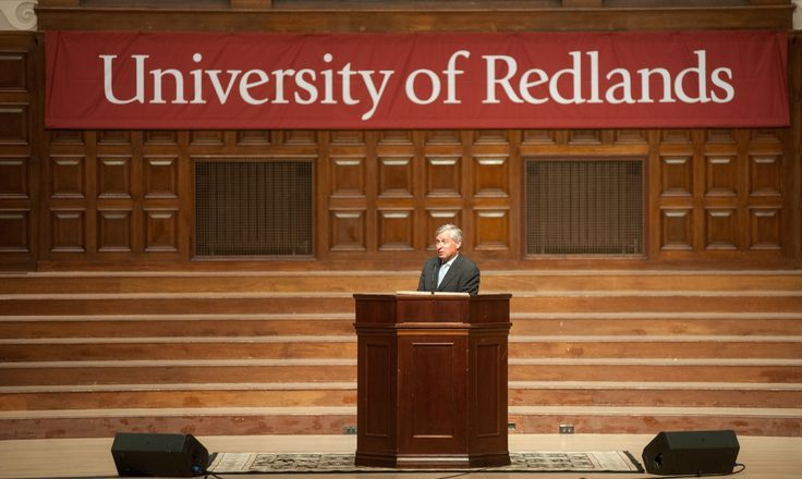 Renowned historian Jon Meacham discusses presidential politics at the University of Redlands.  2016