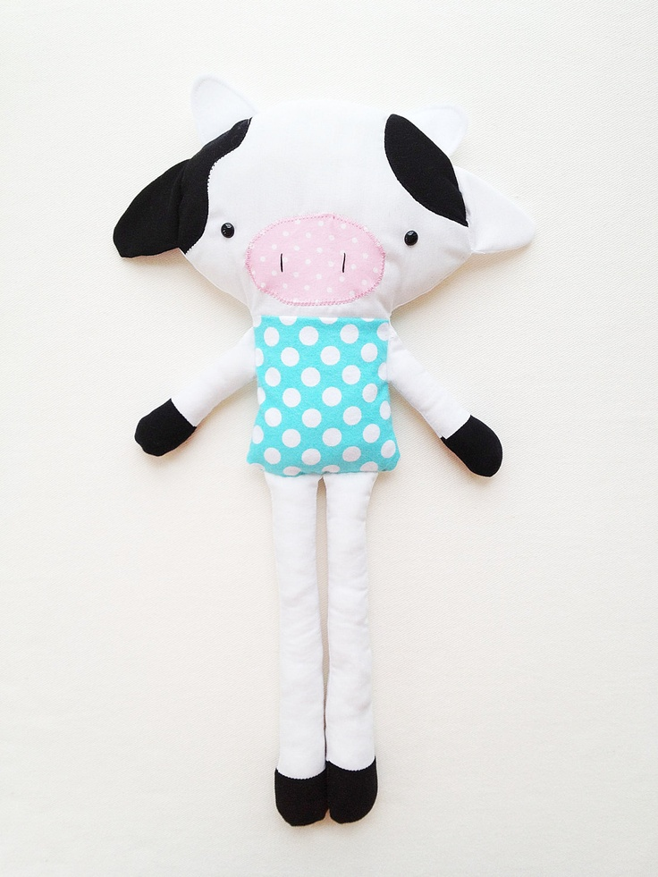Cow toy doll