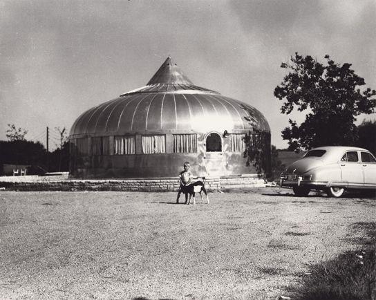 Unknown photographer, Dymaxion House (Rose Hill, Kansas Circa 1949); .