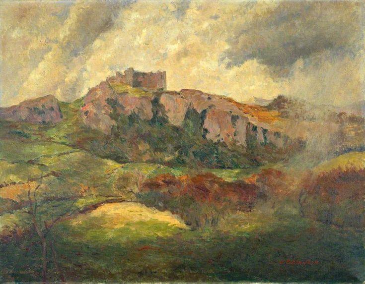 Carreg Cennen Castle (James Bolivar Manson)
