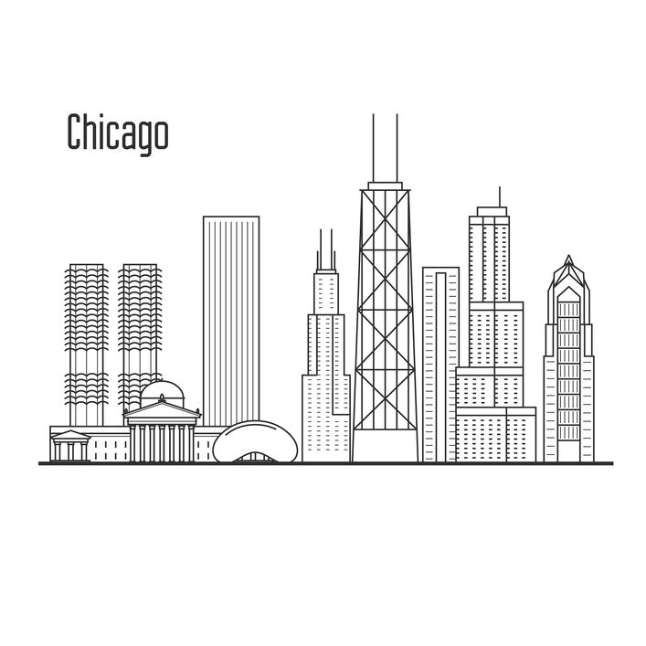 Chicago The Windy City Trips Tips And More Chicago Skyline
