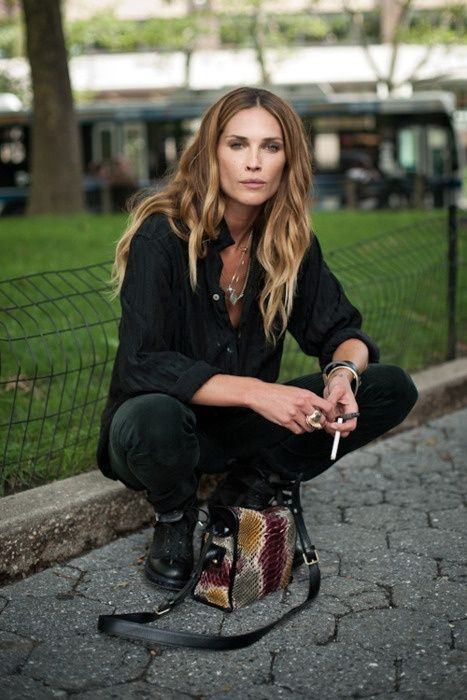 I used to have a major girl crush on Erin Wasson - she's still effortlessly cool but my style has changed.
