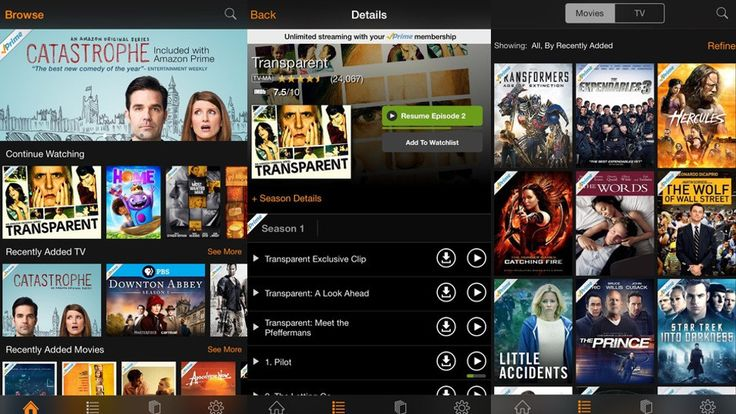 Watch free streaming movies and TV shows with the Amazon Instant Video app....