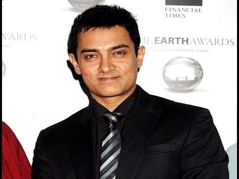 Aamir Khan turned Completely green