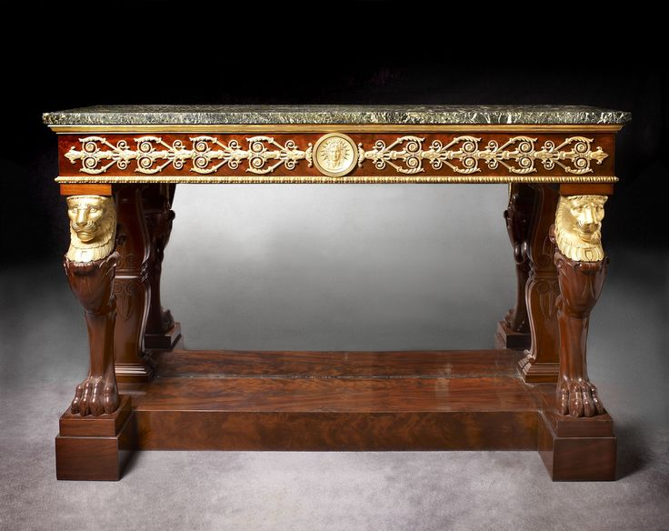 An Empire Console Attributed To Jacob Desmalter Et Cie. European FurnitureAntique  FurnitureEmpire StyleCenter ...