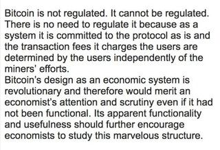 Interesting research paper from the Central Bank of Finland on Bitcoin. Surprisingly accurate analysis! : Bitcoin