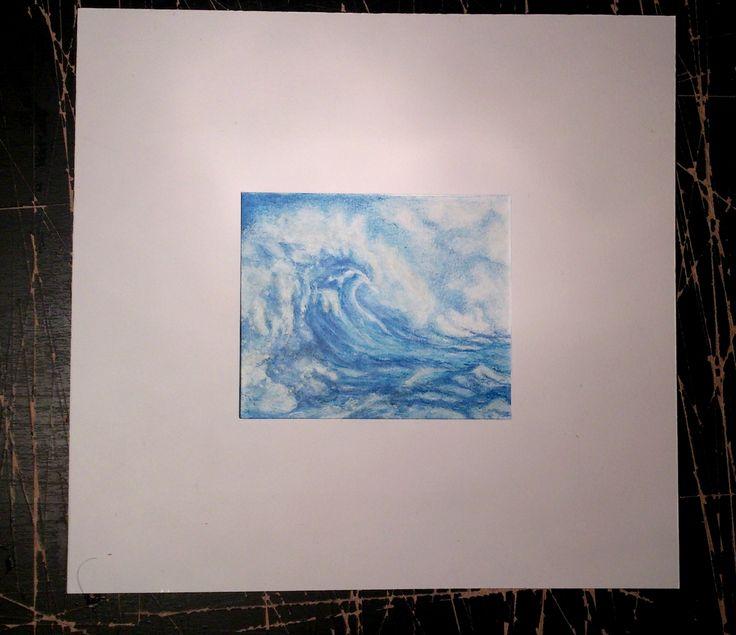 Miniatúrna maľba, Vlny