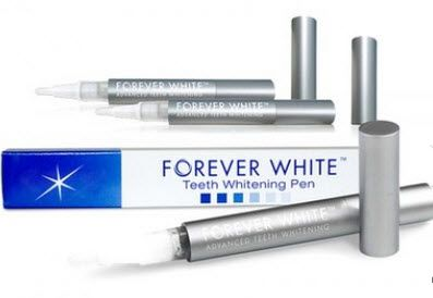 Looking for a beautiful smile? $17.99 for a three-pack of Forever White teeth-whitening pens.