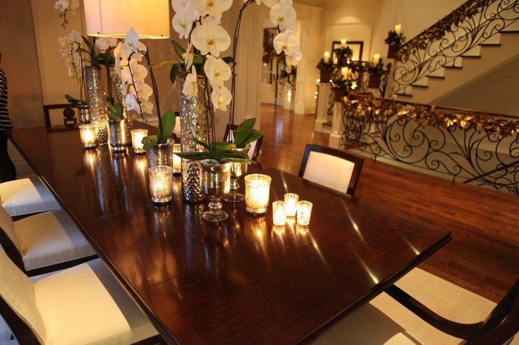 Christmas decorations for the dining table - The PCM Way