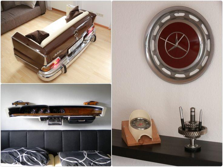 die 25 besten ideen zu m bel aus autoteilen auf pinterest auto m bel autoteile und metallprojekt. Black Bedroom Furniture Sets. Home Design Ideas