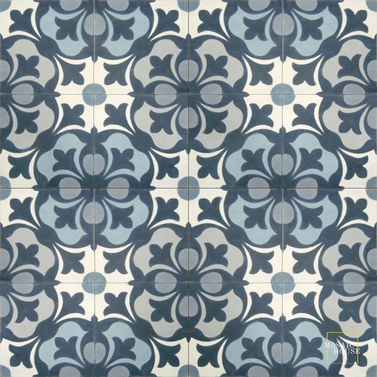 Chelsea C14-41-33-24-29-39 - moroccan cement tile