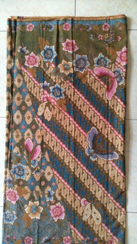 Pattern of batik'handmade