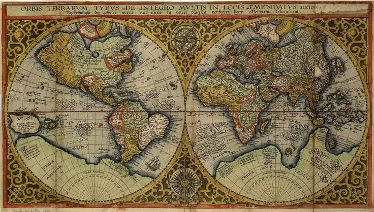The 285 best w old map the world images on pinterest old mapsantique gumiabroncs Gallery