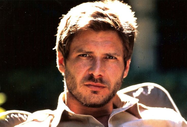 Harrison Ford, sexy and scruffy