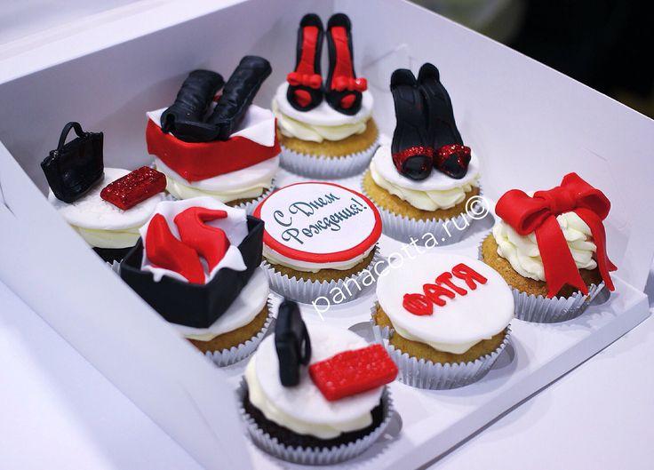 Cupcake shoes #cupcake #cupcakeshoes #cupcakelady   Капкейки с туфельками #капкейки #капкейкитуфли