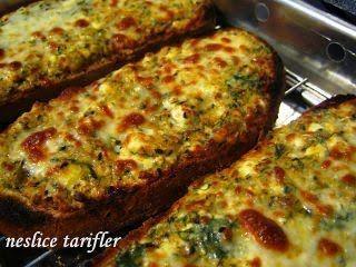 Izgarada pişmiş peynirli baharatlı kahvaltılık ekmekler, Tarif Petitchef