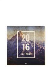 2016 mini square calendar