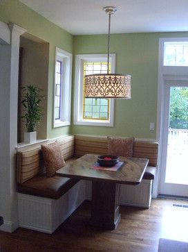 Build A Corner Booth Seating Built In Custom Booth Seating With Decor Design Ideas Pictures For The Home Pinterest Kitchen Booths