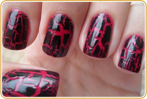 How to Do Crackle Nails Without Crackle Nail Polish  #CrackleNail #Polish #Nails