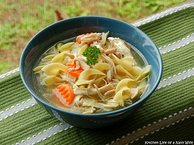 Homemade Chicken Noodle Soup From Scratch Cravings