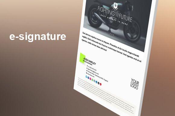 E-Signature (Color) by Blackbox on Creative Market