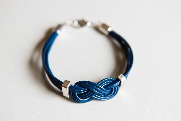 Bracelet en cuir ''Marin'' Homme : Bijoux pour hommes par odydonc