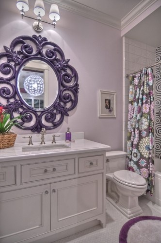 nice adult bathroom with a little whimsy