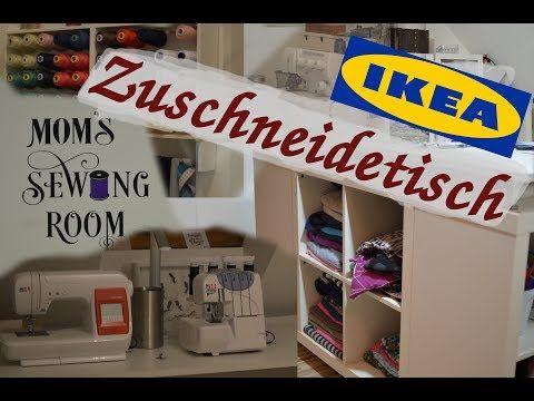 IKEA Hack Nähtisch Zuschneidetisch selber bauen (…