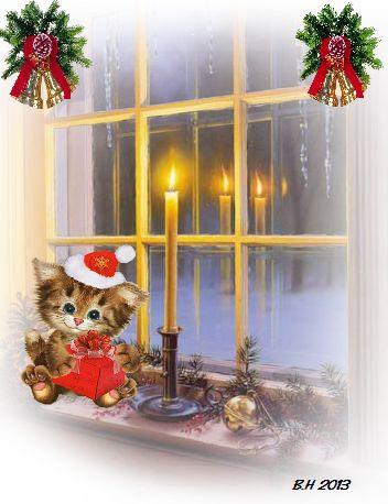 God Jul, made by me, Berit Haukereid