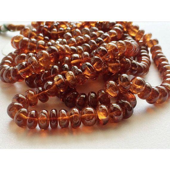 40 best hessonite garnet gemstone beads images on