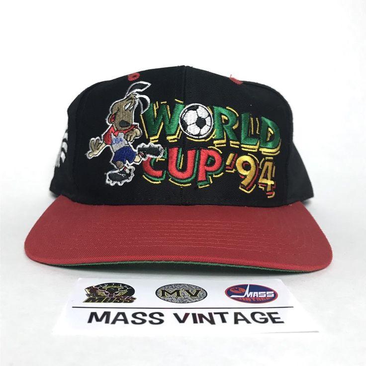 1994 World Cup Hat Snapback Cap Vintage Mens USA Soccer Fubol Club RARE Vtg 90s  | eBay