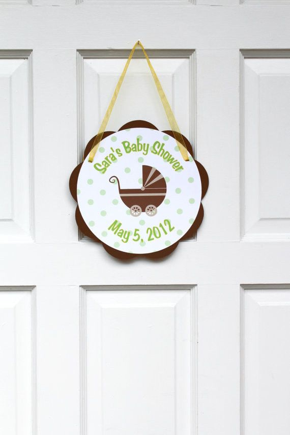 83 best images about babyshower on pinterest for Baby shower door decoration