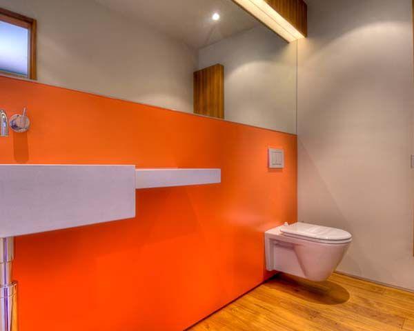 1000+ Ideas About Orange Bathrooms On Pinterest