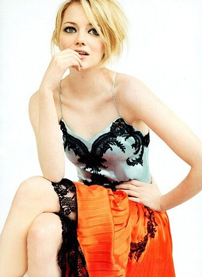 Emma Stone - starting to be one of my favs!