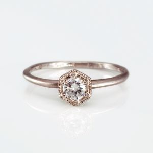 Antique and Vintage-Inspired Engagement Rings Under $2500