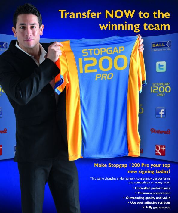 Make your transfer to the winning team NOW with Stopgap 1200 Pro!