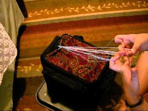 finger loop braiding instructions