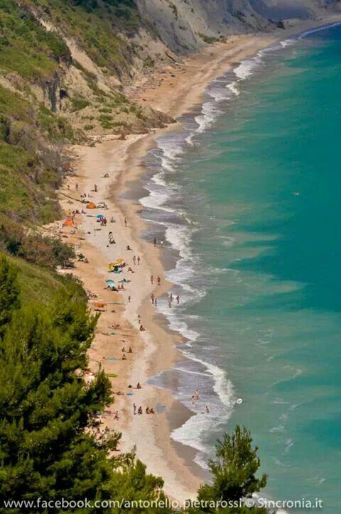 Spiaggia di Mezzavalle -conero