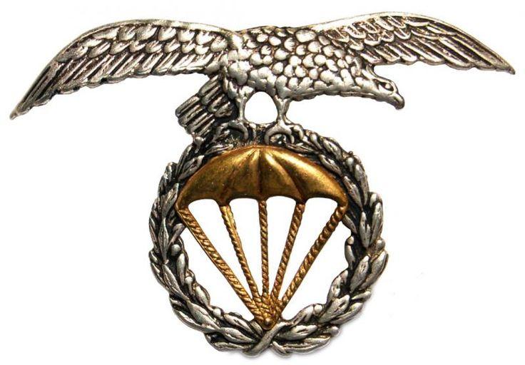 spanish military forces | Spanish Army Parachutists Airborne Beret Badge