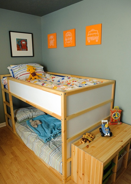 Color Inspiration Orange And Purple In Les Bacs France Toddler Bunk Beds Pinterest Room Kids Bedroom