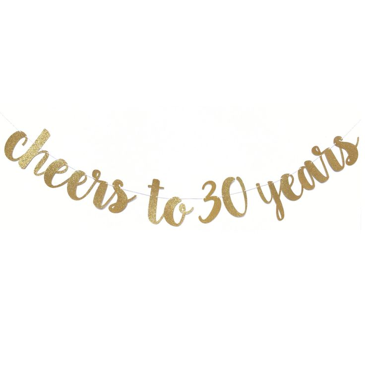 Cheers to 30 Years Banner | 30th Birthday Decorations | 30 Birthday | 30th Birthday Banner | Dirty 30 | Dirty Thirty Bday | 30 and Fabulous by ShowPonyPartyShop on Etsy https://www.etsy.com/listing/486181219/cheers-to-30-years-banner-30th-birthday