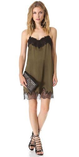 Haute Hippie Lace Slip Dress | SHOPBOP