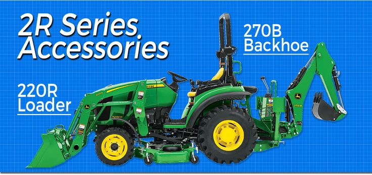 John Deere 2R Series Tractor Accessories Blog by Mutton Power Equipment